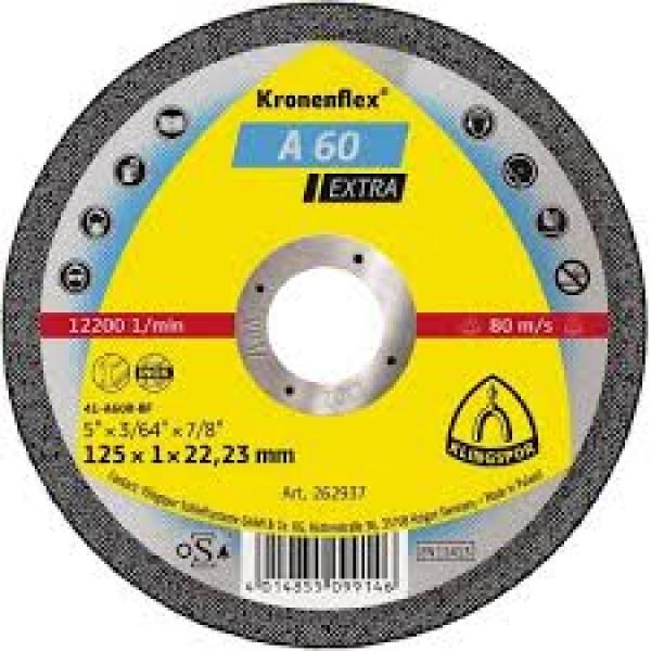 (262936) A60EX CUTTING DISC April 1 / 2X1MM AC. IN...