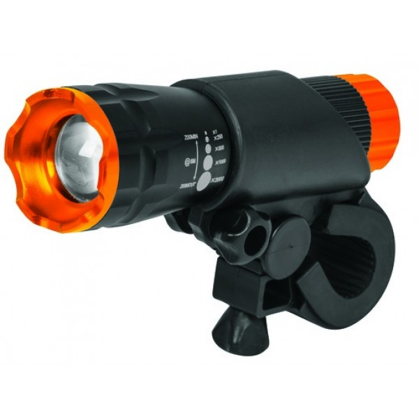 100LUMS BICYCLE FLASHLIGHT LIBI-100D FRONT