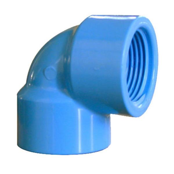 """aaaaaaElbow PVC Hi 90° CEM 20 X 1/2"""" (60)"""