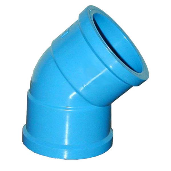 aaaaaaCODO 20MM EN 45ºCEM PVC PRESION (50)