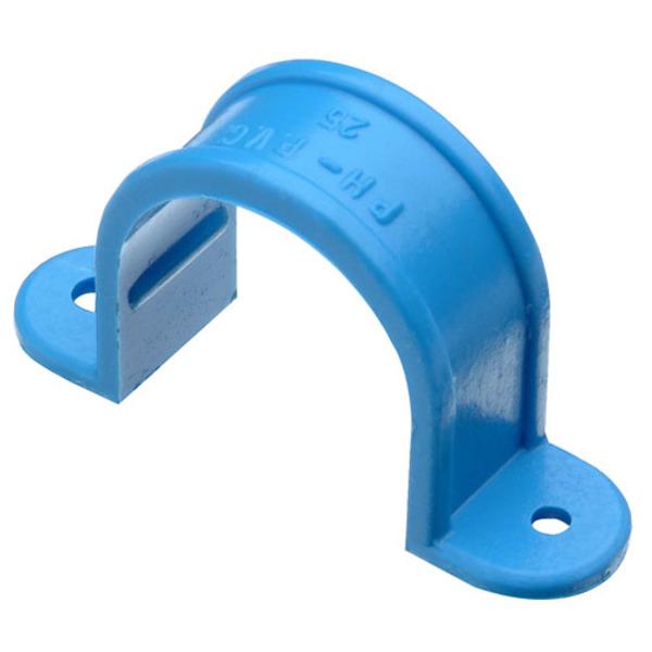ABRAZADERA 20MM HIDRAUL.PVC PRESION (100)
