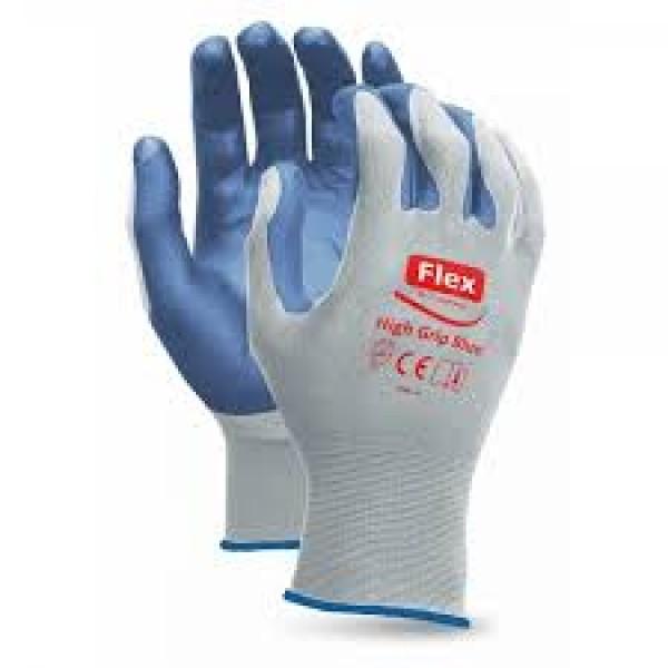 GLOVE GRIP HIGH FLEX BLUE T / 10 LEGEND 1412301500...